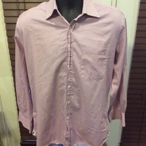 Peter Millar Dress Shirt Size 15.5R (Large)